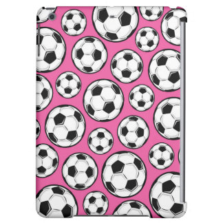 Pink Soccer iPad Air Case