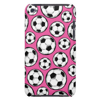 Pink Soccer iPod Touch Case