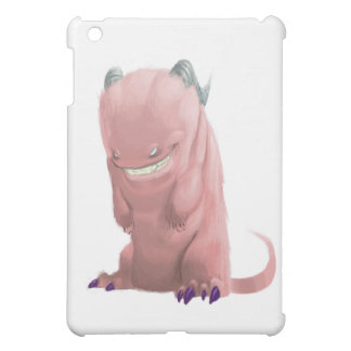 pink sock monster iPad mini cover