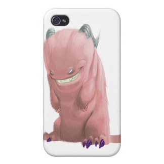 pink sock monster iPhone 4 cover