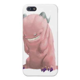 pink sock monster iPhone 5 cover