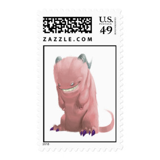 pink sock monster Postage