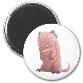 Pink Sock Monster Refrigerator Magnets