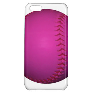 Pink Softball iPhone 5C Cover