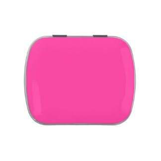 pink, solid background candy tin
