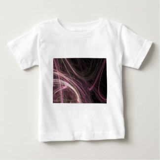 Pink Space Flow Abstract Halima Ahkdar Gear Baby T-Shirt