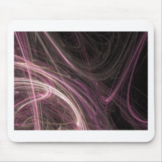 Pink Space Flow Abstract Halima Ahkdar Gear Mouse Pad