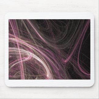 Pink Space Flow Abstract Halima Ahkdar Gear Mousepad