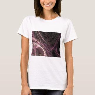 Pink Space Flow Abstract Halima Ahkdar Gear T-Shirt