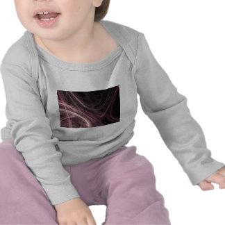 Pink Space Flow Abstract Halima Ahkdar Gear Tee Shirt