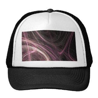 Pink Space Flow Groovy Starburst Pattern Cosmic Hat