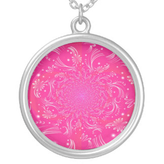 'Pink Space' Necklace