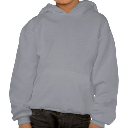 Pink Space Rocket Hooded Pullover
