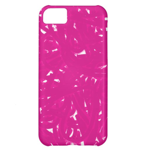 Pink Spaghetti Cover For iPhone 5C