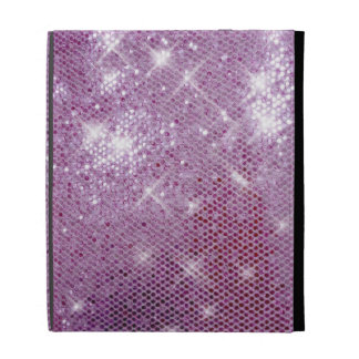 Pink Sparkle-Look iPad Folio Cover