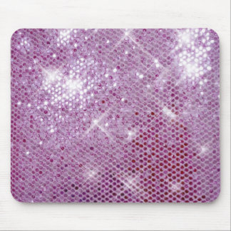 Pink Sparkle-Look Mouse Pad