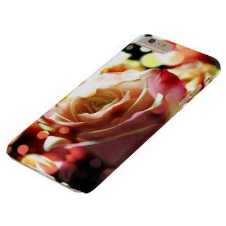 Pink Sparkle Rose iPhone 6 Plus Case