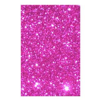 Pink Sparkle Sparkly Glitter Girly Girl Stuff Glam Stationery