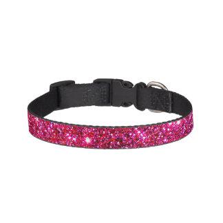 Pink Sparkle Sparkly Puppy Pet Collar