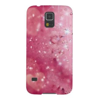Pink Sparkles & Glitter Galaxy S5 Case