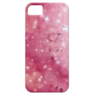 Pink Sparkles & Glitter iPhone SE/5/5s Case