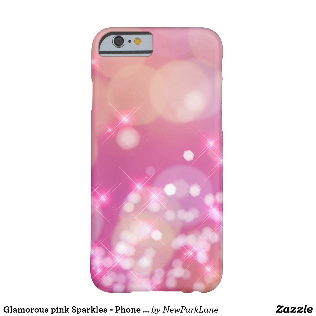 PINK SPARKLES - Phone Case