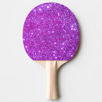 Pink Sparkly Glitter Girly Ping Pong Paddle 4