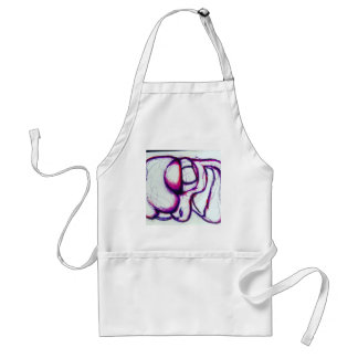 Pink Spectralis By Luminosity Adult Apron