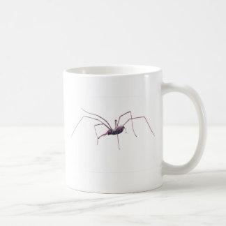 Pink spidephant mug white