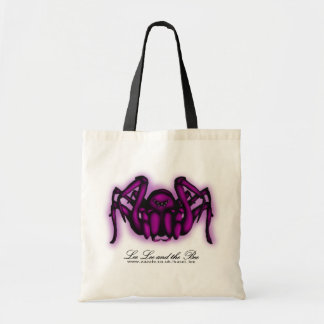 Pink Spider, shopping bag