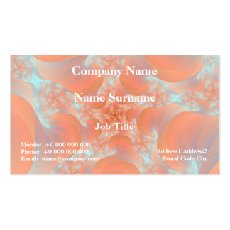 Pink Spiral Business Card Pack Of Standard Business Cards