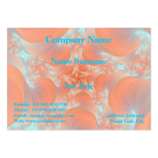 Pink Spiral Chubby Business Card Pack Of Chubby Business Cards