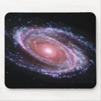 Pink Spiral Galaxy Mousepad Mouse Pads