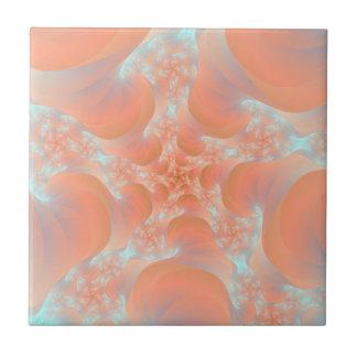 Pink Spiral tile