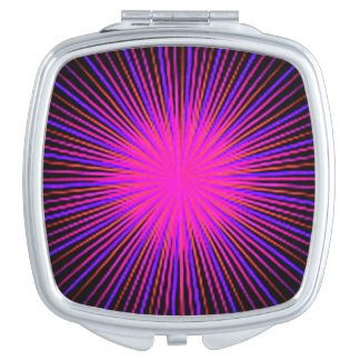 Pink Spirit Circle Compact Mirrors