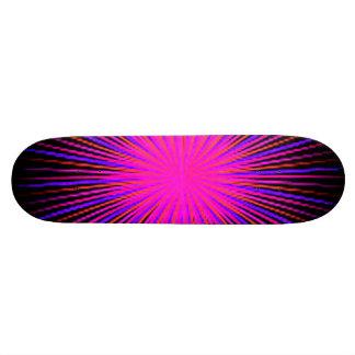 Pink Spirit Circle Skateboard Deck