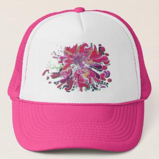 PINK SPLASH by SHARON SHARPE Trucker Hat