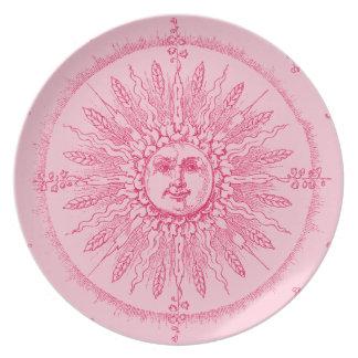 Pink Splendor Dinner Plate