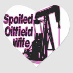 Pink Spoiled Oilfield Wife Stickers