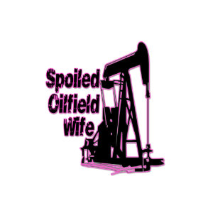 pink spoiled oilfield wife trucker hat