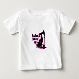 Pink Spoiled Oilfield Wife Shirts