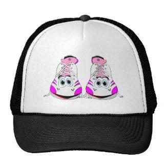 Pink Sports Shoes Cartoon Trucker Hats