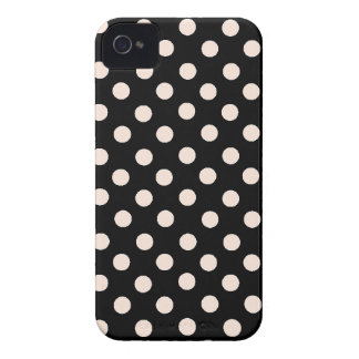 Pink Spot Polka Dot iPhone 4 Case-Mate Cases