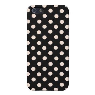 Pink Spot Polka Dot  iPhone 5 Case