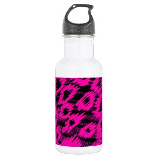 Pink Spots Pattern Stainless Steel Water Bottle