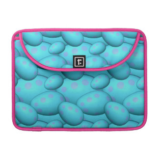 Pink Spotted Blue Eggs Sleeve For MacBooks
