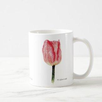 Pink Spotted Tulip 11oz. Mug