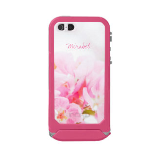 Pink Spring Apple Blossoms Waterproof iPhone SE/5/5s Case