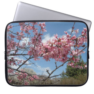 Pink Spring Blossoms Laptop Sleeves