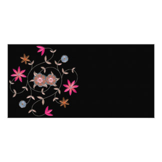 Pink Spring Flower Garden Card